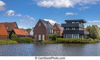 Modern free standing houses - Modern residential design...