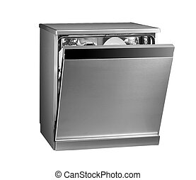 Modern freestanding dishwasher