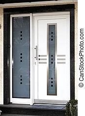 Modern front door  - Modern front door  with glass