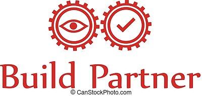 modern gear logo design