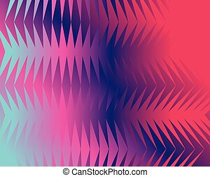 Modern geometric background, Gradient shapes composition