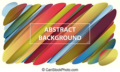 Modern geometric circles abstract background