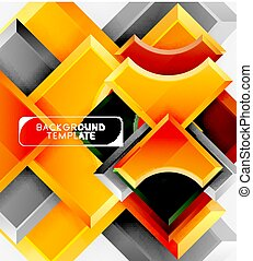 Modern geometrical abstract background. Vector minimal design