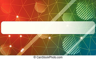 Modern geometrical abstract background with triangles, line, circle, space for text elements Template for wallpaper, interior design, decoration, scrapbooking page. Vector illustration.