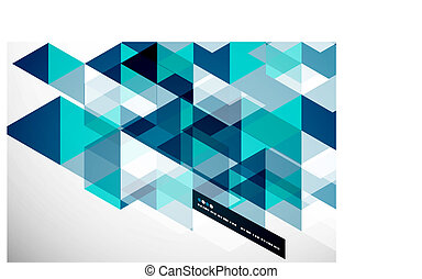 Modern geometrical abstract template - Modern geometrical...