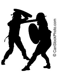 Modern gladiators seven