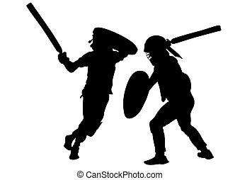Modern gladiators six