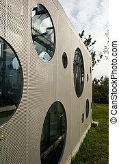 Modern Graphic design Building exterior