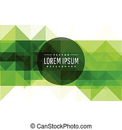 modern green abstract background