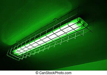 green power lamp, energy details