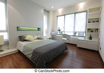 modern, hálószoba