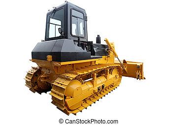 Modern heavy dozer crawler