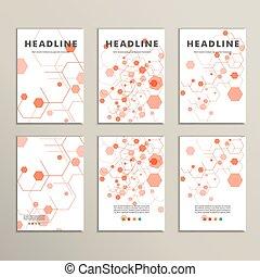 Modern Hexagon Design. Vector background