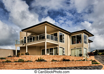 Modern Home - A large, beautiful, modern architectually...