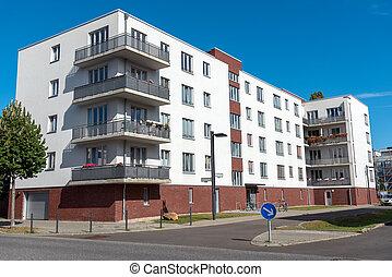 Modern home building in Berlin