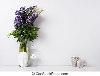 Modern home decor background