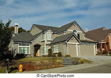 Modern home in California