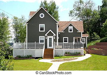 Modern Home in Rural Area - A Modern Home in a Rural Area