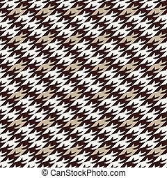 modern houndstooth seamless pattern