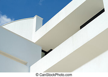 modern house detail