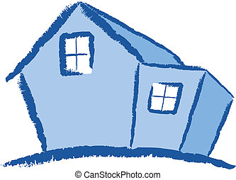 Modern House Illustration