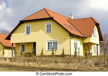 modern housing, Czech Republic