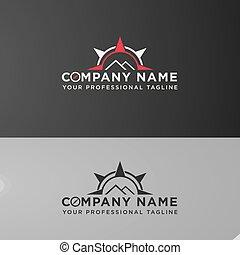 modern icon logo Design