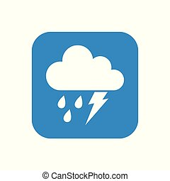 Modern Icon Weather Button Applications