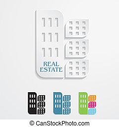 Modern icons  for Real estate business design. Vector illustration