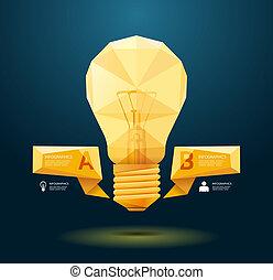 modern, infographic, design, stil, plan, /, schablone, infographics, geometrisch, minimal, website, sein, gebraucht, horizontal, freisteller, numeriert, grafik, linien, vektor, buechse, banner, oder