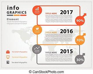 Modern infographic Design Vector