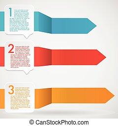 Modern infographic illustration