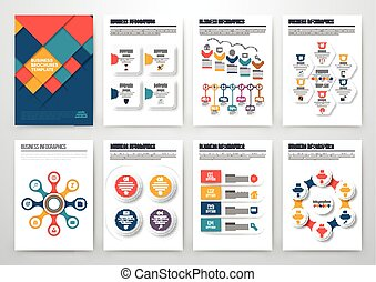 Modern infographic vector concept