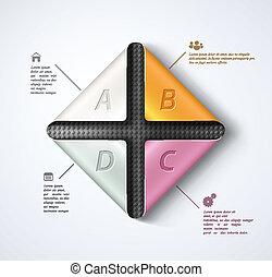 Modern infographics - Modern banner template, infographics. ...