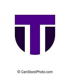 modern initial letter MT or TM logo