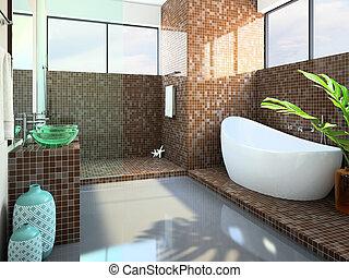 Inneneinrichtung badezimmer modern inneneinrichtung for Badezimmer inneneinrichtung