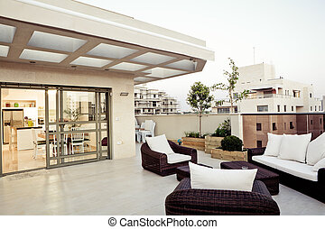 Modern Interior - Balcony Interior Design