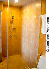 interior bathroom shower