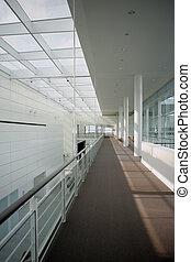 modern, irodaépület