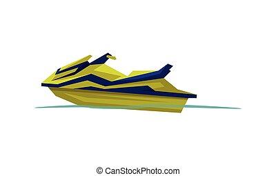 Modern Jetski, Speedboat, Motorized Water Transport, Summer ...
