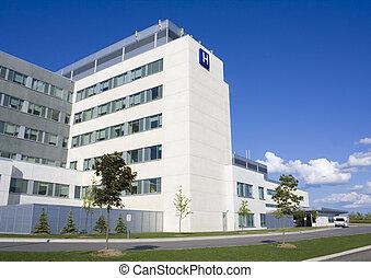 modern, kórház