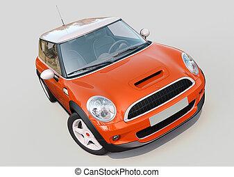 modern, kis autó