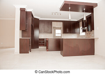 Modern Kitchen in Newly Build House