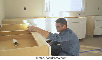 Modern kitchen interior Home Improvement Kitchen Remodel -...