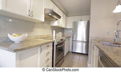 Modern Kitchen interior. North America House. - Kitchen ...