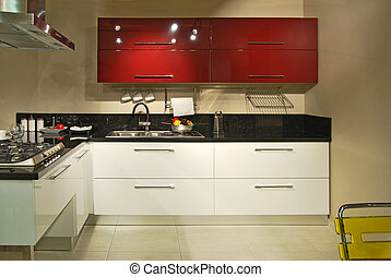 Modern kitchen - This is a modern and beautiful kitchen