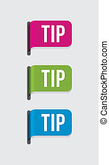 Modern label %u2013 tip - Use this label to highlight your...