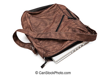 laptop in a bag