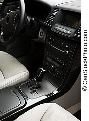 interior of the new car
