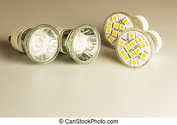 Modern LED bulbs